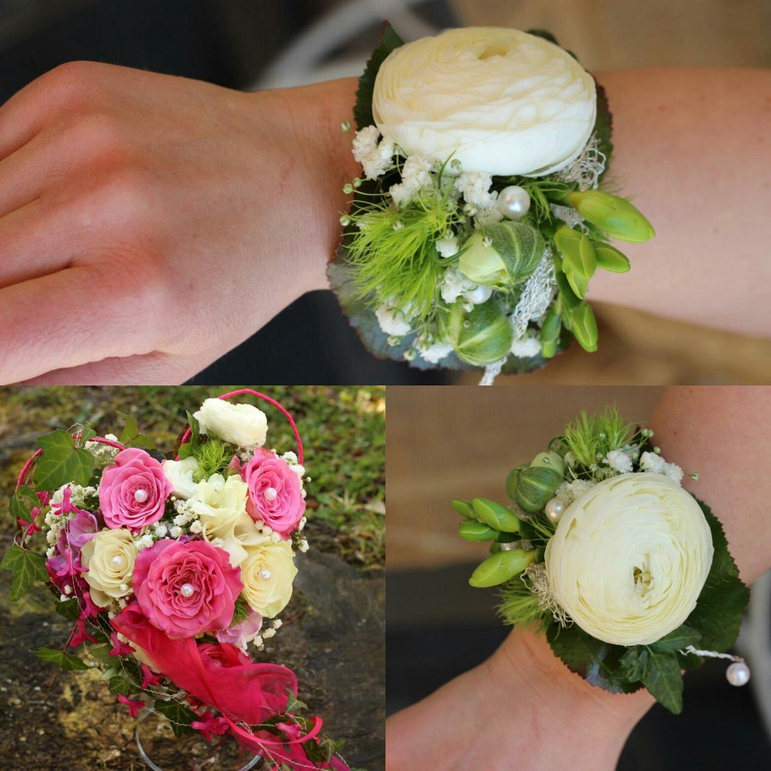 Brautstrauss Mit Ranunkeln Und Rosen