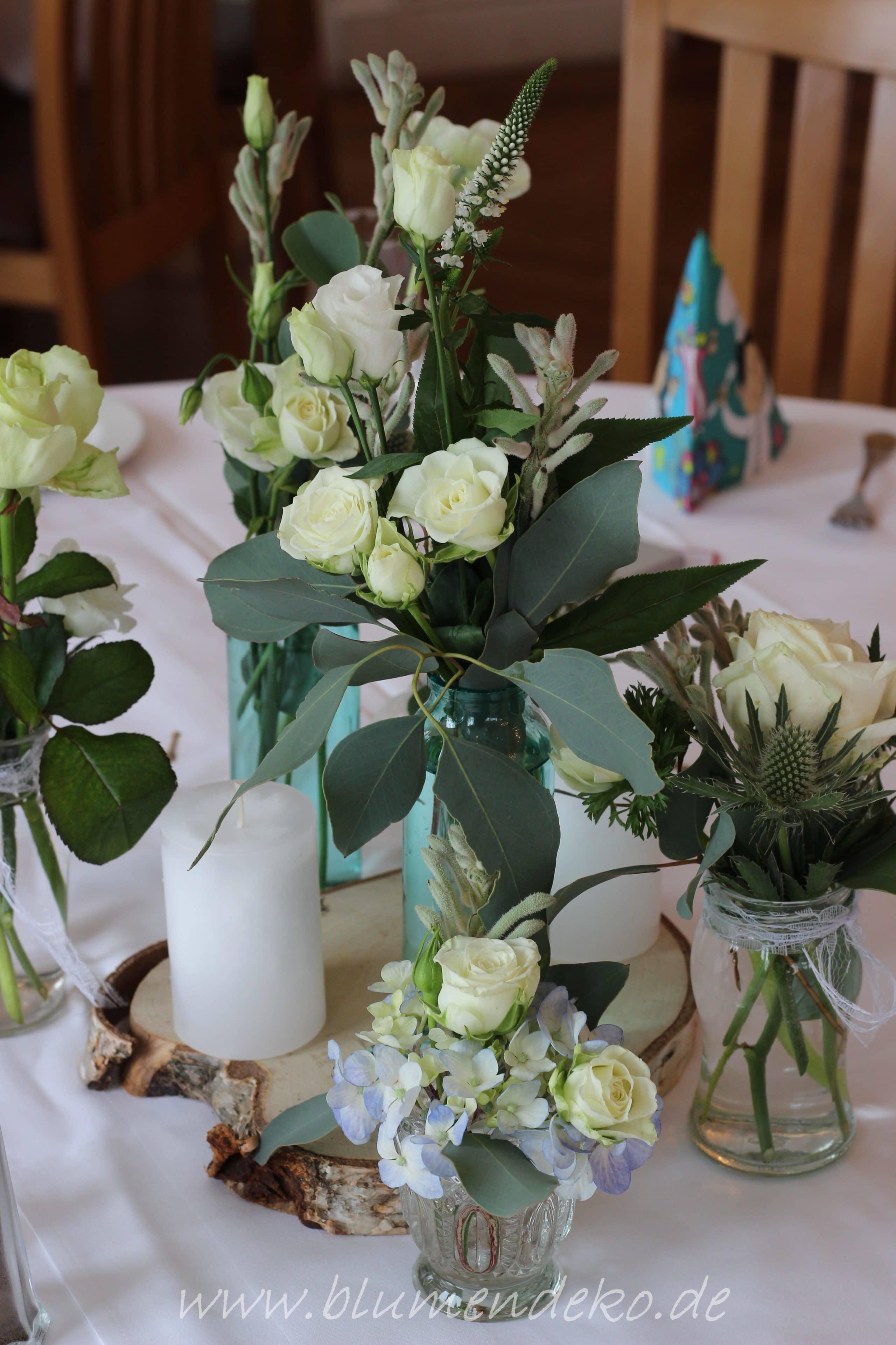 Hochzeit Im Februar Mit Winterlicher Blumendekoration